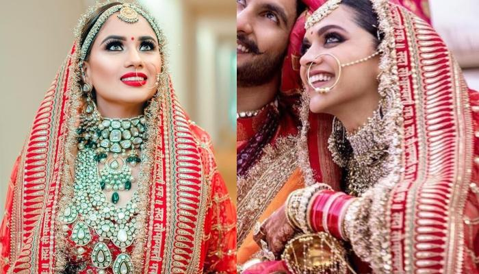 This Bride Wore The Same Sabyasachi Lehenga As Worn By Deepika Padukone For Her Traditional Wedding