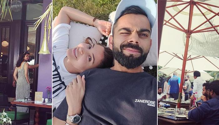Anushka Sharma And Virat Kohli Chill With AB De Villiers And His Family Amidst IPL Matches