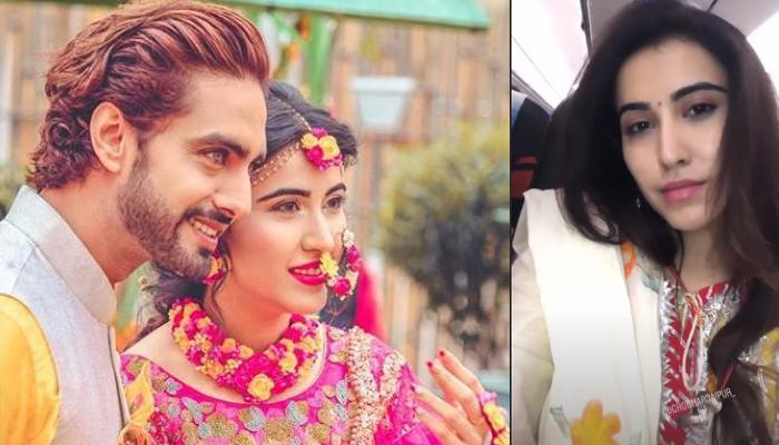 Sheena Bajaj Celebrates First Gangaur With Hubby Rohit Purohit, Applies Mehendi Of His Name [VIDEO]