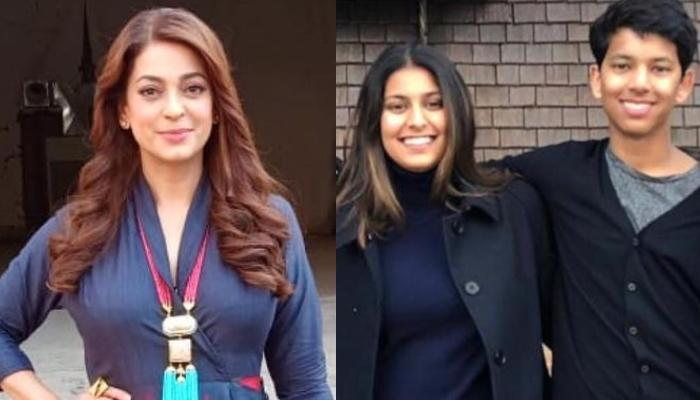 Juhi Chawla Shares An Unseen Picture Of Her Kids, And We Must Say Her Daughter Looks Just Like Her