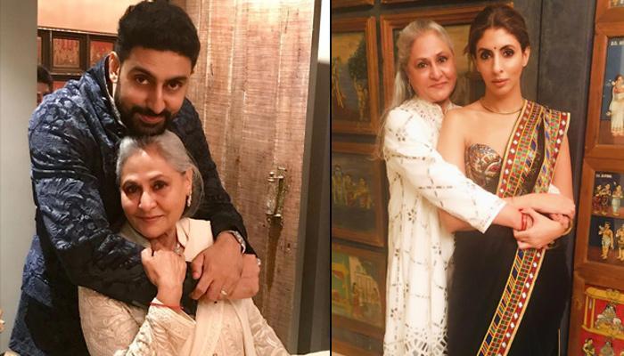 Shweta Bachchan Nanda And Abhishek Bachchan Post Heartfelt Wishes For Jaya Bachchan's 71st Birthday