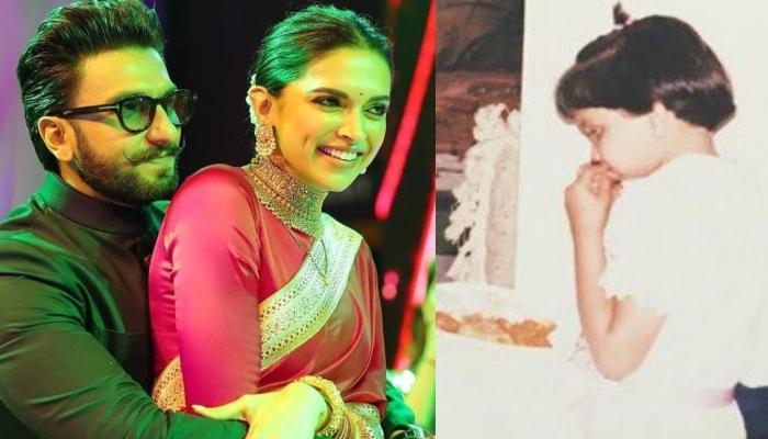 Deepika Padukone Shares An Old Picture Of Being 'A Forever Hungry Child' And Ranveer Singh Agrees