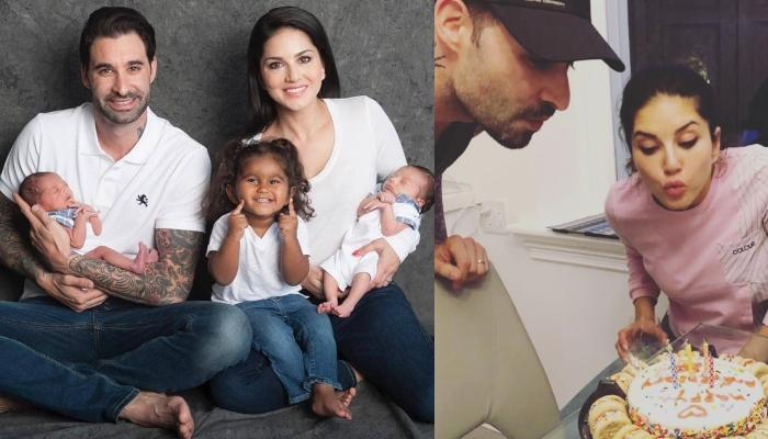 Sunny Leone's Daughter, Nisha Weber Baked A Cake For Her Mom And Dad's Anniversary [Pictures Inside]