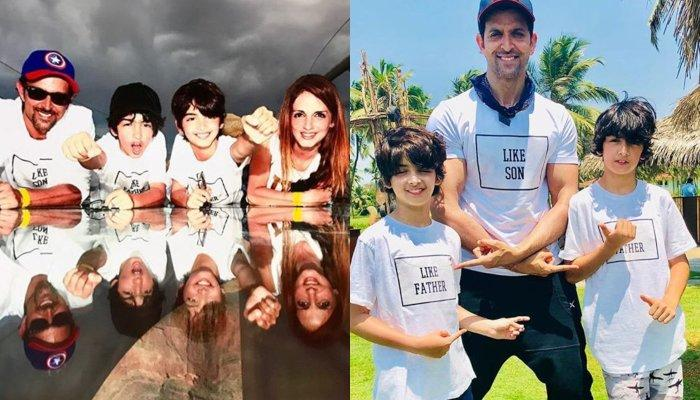 Hrithik Roshan And His Ex-Wife, Sussanne Khan Post Heartfelt Birthday Wishes For Son Hridaan Roshan