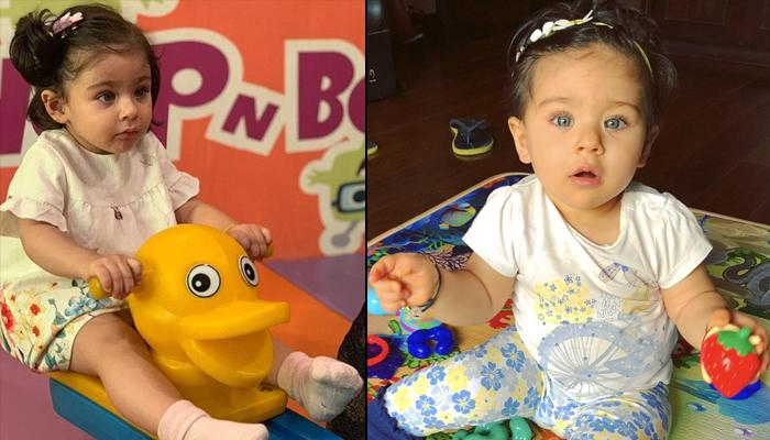Inaaya Naumi Kemmu Looks Cute As A 'Duckling' With A Frown In An Unseen Picture From Her Play Time