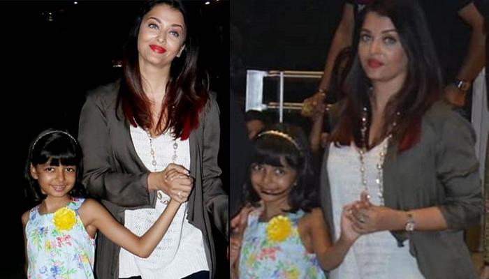 Aishwarya Rai Bachchan Targeted By Meanest Trolls For Walking Hand-In-Hand With Aaradhya Bachchan