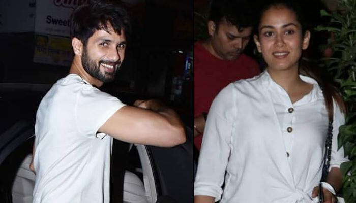 Shahid Kapoor And Wife Mira Rajput Kapoor Are 'Winning At Twinning' In White On Romantic Dinner Date