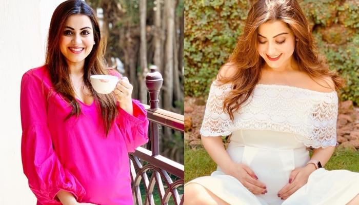 Priyanka Kalantri Gives Maternity Fashion Goals For Mommy-To-Be With Her Off-Shoulder Dress