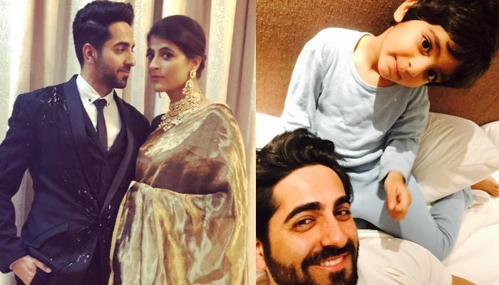 Ayushmann Khurrana's Kids Are Not Allowed To Watch His Films And The Reason Will Shock You