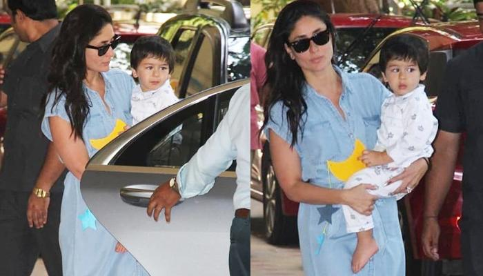 Taimur Ali Khan Looks Sleepy After Pyjama Party At His Playschool, Turns Artist At The Party