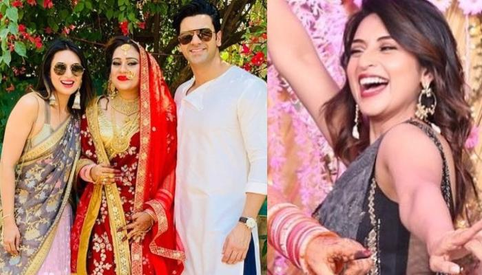 Divyanka Tripathi Dahiya Gives Us Bridesmaid Goals In These Unseen Pictures From Her BFF's Wedding