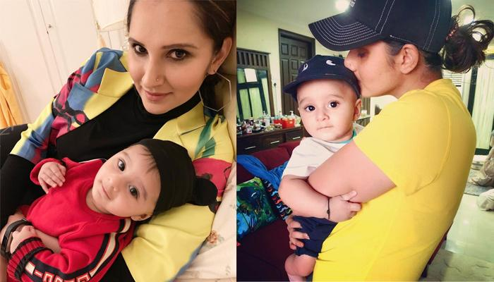 Sania Mirza's Latest Black And White Picture With Son, Izhaan Mirza Malik Is Breathtakingly Awesome