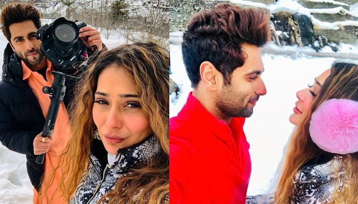 Sara Khan Confirms She Is In Love With Ankit Gera, Shares An Adorable Pic, Calls Him 'Forever Mine'