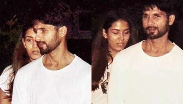 Shahid Kapoor And Mira Rajput Twin In White As They Go Out On A Dinner Date