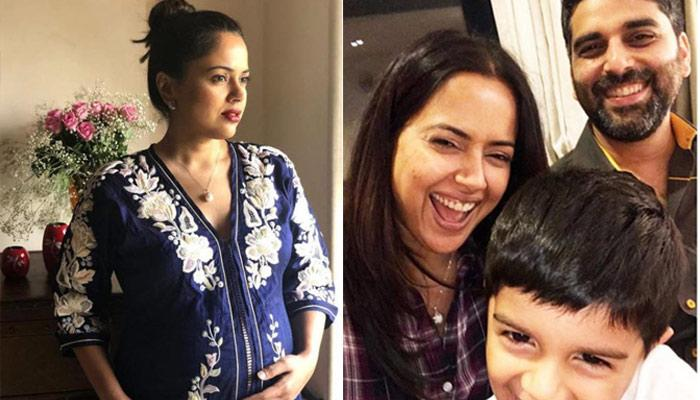 Sameera Reddy Enjoys And Celebrates Her Growing Bump In A Unique Manner, Picture Inside