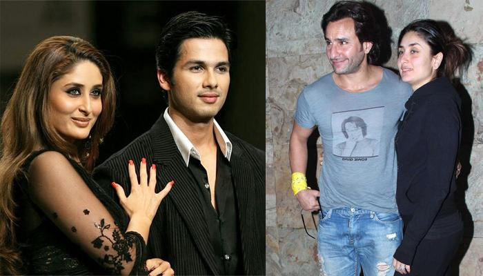 Shahid Kapoor Said It Did Hurt Seeing His Ex Girlfriend, Kareena Kapoor Khan With Saif Ali Khan