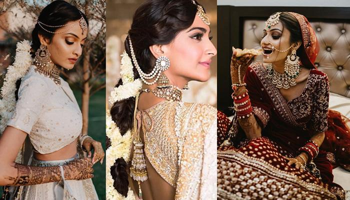 Bride Recreated Sonam K Ahuja And Deepika Padukone's Wedding Look For Her Own, Looked Stunning