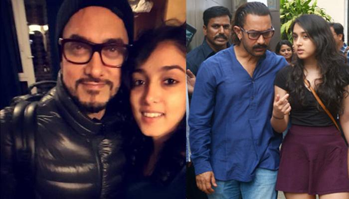 Aamir Khan Shares Daughter Ira Khan's Childhood Picture On Her 21st Birthday, Her Reply Is Hilarious