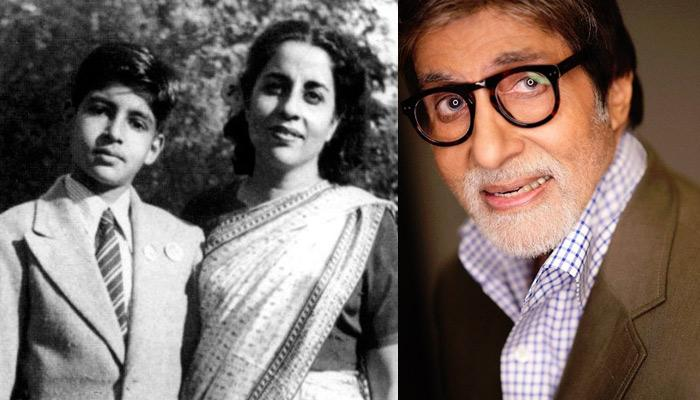 Amitabh Bachchan Has The Most Special Tribute For Mother's Day, Sings An Emotional Song [VIDEO]