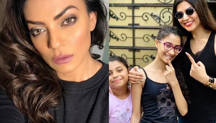 Sushmita Sen Shares Unseen Childhood Picture With Her Grandmother Ahead Of Mother's Day 2019