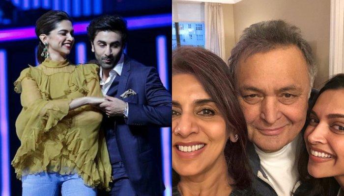 Ranbir Kapoor's Ex, Deepika Padukone Spends A Chill Session With His Parents, Rishi And Neetu Kapoor