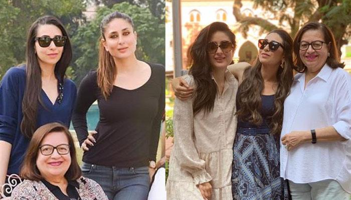 Karisma Kapoor's Mother's Day Post Includes Kareena, Babita, Taimur, But He Is In No Mood To Pose