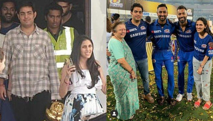 Shloka Mehta Proudly Flashes The IPL Cup With Sagarika Ghatge And Ritika Sajdeh After IPL 2019 Win