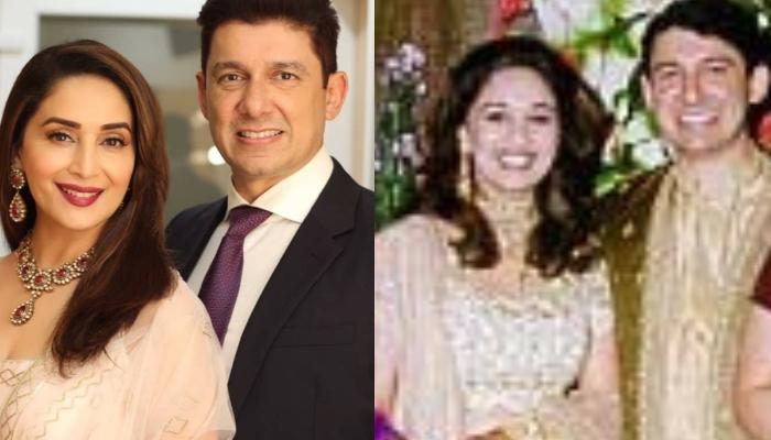 Madhuri Dixit's Unseen Wedding Picture Will Take You Back To The 90's And Her Timeless Beauty