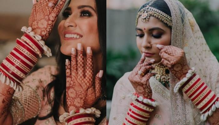 This Bride Wore The Most Gorgeous Shell Jewellery And We Are Sure It's Going To Be The Hottest Trend