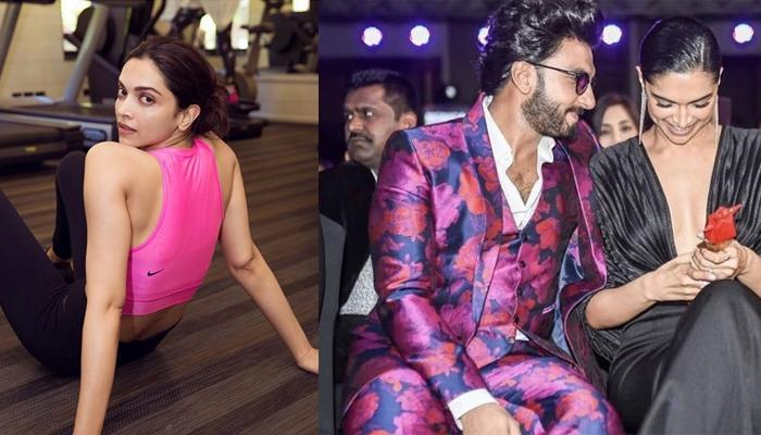 Deepika Padukone Fell Down While Working Out, Hubby Ranveer Singh Replies Naughtily To Her