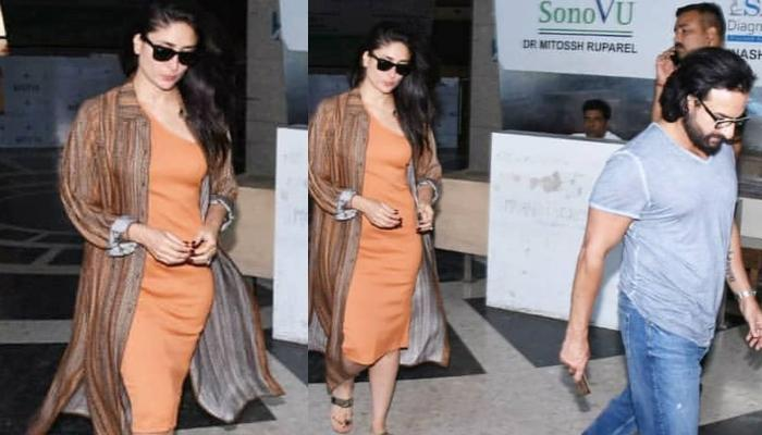 Kareena Kapoor Khan And Saif Ali Khan Spotted Outside A Clinic, Netizens Suspect She Is Pregnant