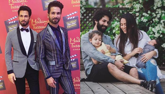 Shahid Kapoor Reveals Why He Didn't Take Misha And Zain Along For Unveiling His Wax Statue