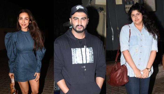 Arjun Kapoor's BF, Malaika Arora And Sister, Anshula Together At 'India's Most Wanted' Screening