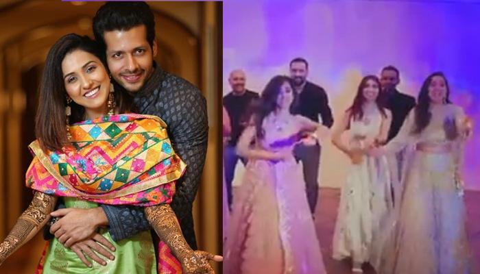 Neeti Mohan's Best Friends Sang And Danced On Gud Nal Ishq Mitha At Her Wedding When The DJ Refused