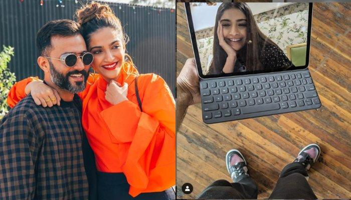 Sonam K Ahuja Wants Hubby, Anand Ahuja To Focus On Her While Video-Calling Instead Of Instagram