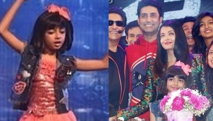 Aishwarya Rai Bachchan And Abhishek Bachchan Cheer For Daughter, Aaradhya As She Rocks The Stage