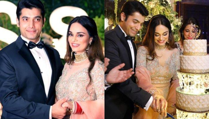 Sharad Malhotra And Ricpi Malhotra Host A Grand Wedding Reception In Kolkata, Pictures Inside