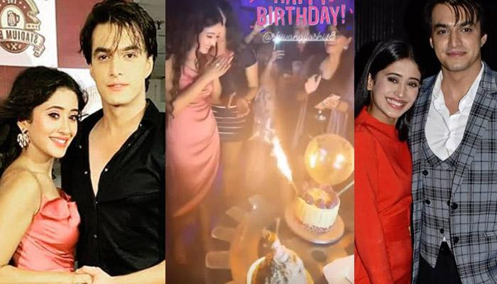 Shivangi Joshi Celebrated Her Birthday With BF Mohsin Khan And Their Friends, Pics And Videos Inside