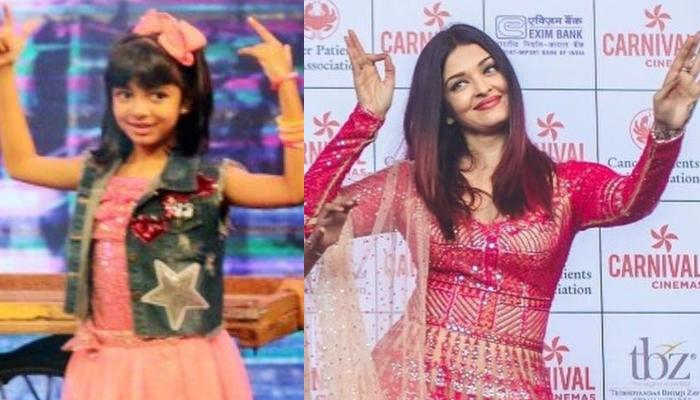 Aaradhya Bachchan Reminds Us Of Aishwarya Rai Bachchan With Her Dance Moves [Video Inside]