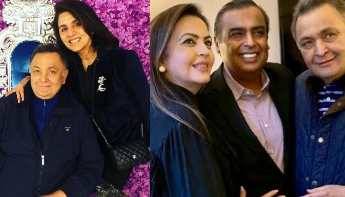 Mukesh Ambani And Nita Ambani Visit Rishi Kapoor And Neetu Kapoor In New York [Pictures Inside]