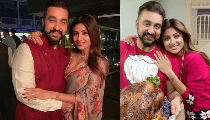 Raj Kundra Can't Take His Hands Off Shilpa Shetty Kundra For A Very Valid Reason, Pictures Inside