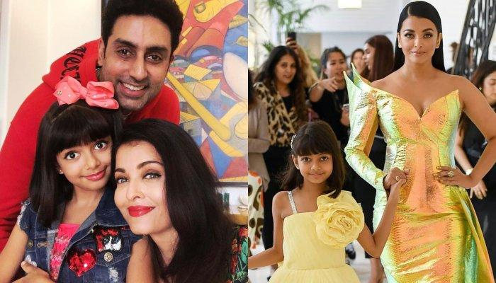 Aishwarya Rai Bachchan Brutally Trolled On Social Media For Applying Makeup On Aaradhya Bachchan