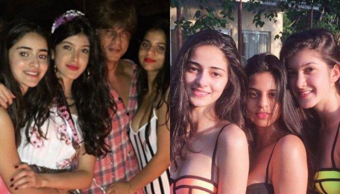 Ananya Panday Considers Bestie, Suhana Khan's Superstar Father, Shah Rukh Khan As Her Second Dad