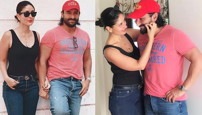 Kareena Kapoor Khan Plays With Saif Ali Khan's Moustache, It's Every Millennial Couple Goals Ever