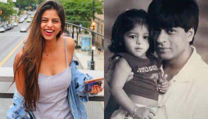 Unseen Throwback Childhood Pictures Of Suhana Khan On Her 19th Birthday Are Adorable Beyond Words