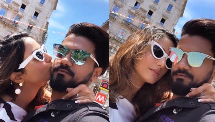 Hina Khan And Rocky Jaiswal's Cosy Pictures And Videos Straight From Their Milan Trip, Check Inside