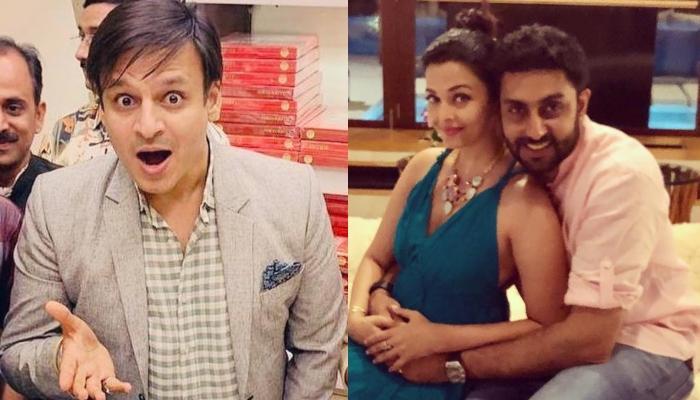 Vivek Oberoi's Meme On Aishwarya Rai Bachchan Made Husband, Abhishek Bachchan Furious?