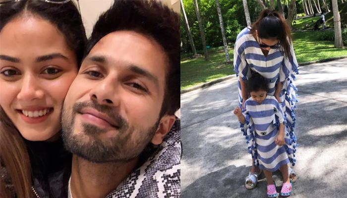 Mira Rajput Kapoor And Shahid Kapoor Go On Family Cycling Day Out With Misha And Zain, Pics Inside