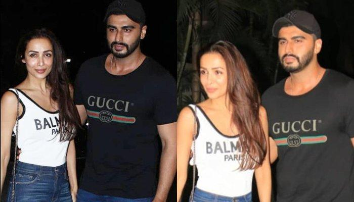 Arjun Kapoor And Malaika Arora Pose Hand-In-Hand For First Time As A Couple At Screening Of His Film