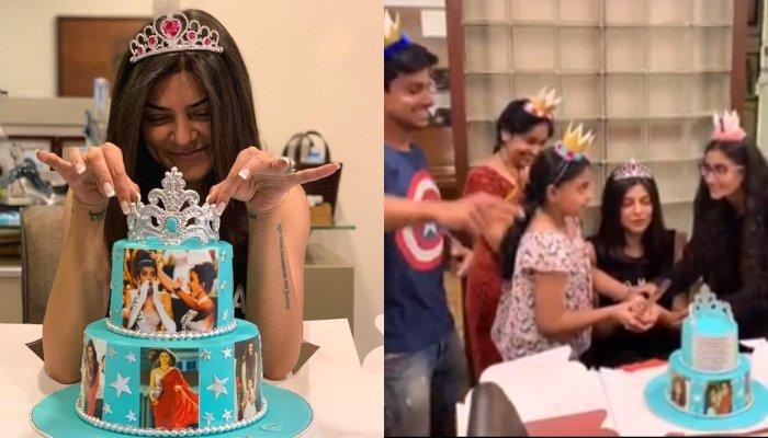 Sushmita Sen Gets A Surprise From Rohman Shawl, Daughters On Completing 25 Years As Miss Universe